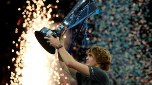 Alex Zverev won the ATP Finals in his second appearance at the eight man tournament.
