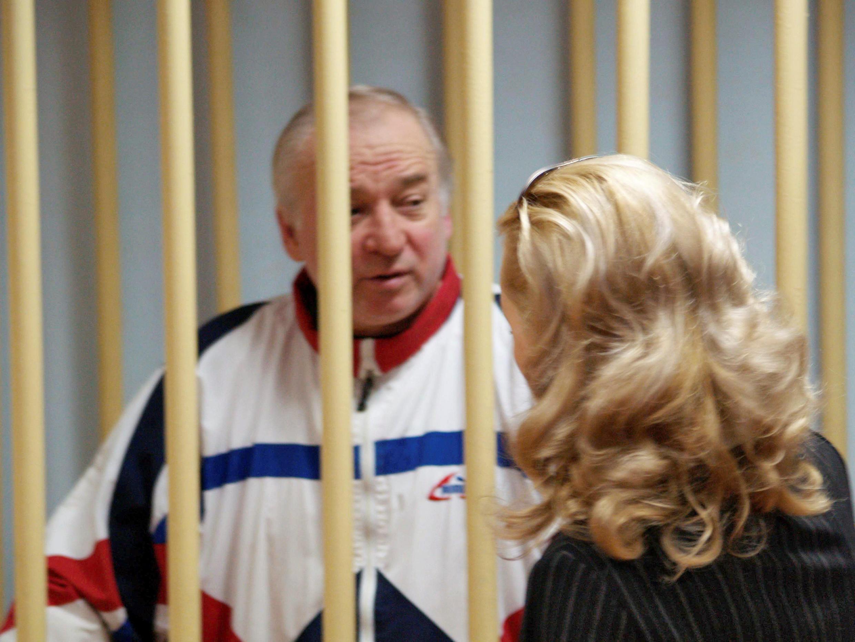 Сергей Скрипаль в Московском окружном военном суде, 9 августа 2006.