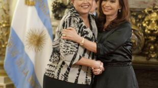 Cristina Kirchner se encontra com Dilma Rousseff nesta sexta-feira.