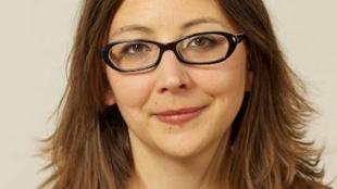 Sandra Régol, porte-parole d'Europe Ecologie-Les Verts (EE-LV).