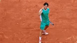 Dominic Thiem reached the French Open semi-finals for the second year running with his quarter-final defeat over defending champion Novak Djokovic.