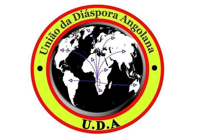 Sigla da associação de jovens angolanos, UDA, União da diáspora angolana, apresentada a 12 de dezembro, ao público, em Paris