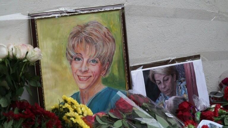 Homenagens à Doutora Liza em Moscou