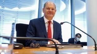 Le ministre des Finances Olaf Scholz, le 29 juillet 2020.