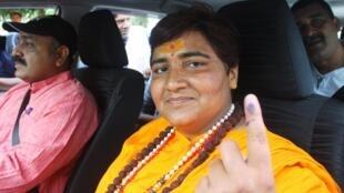 Pragya Singh Thakur, Candidate du BJP dans la province de Bhopal.