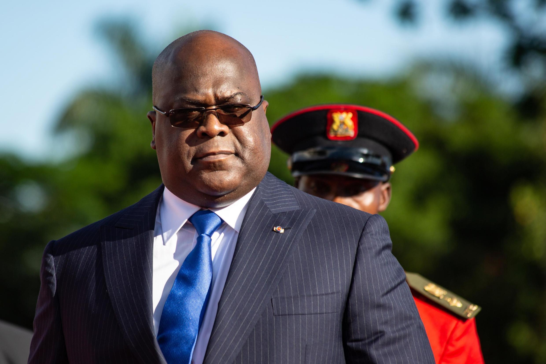 Rais wa DRC  Félix Tshisekedi.