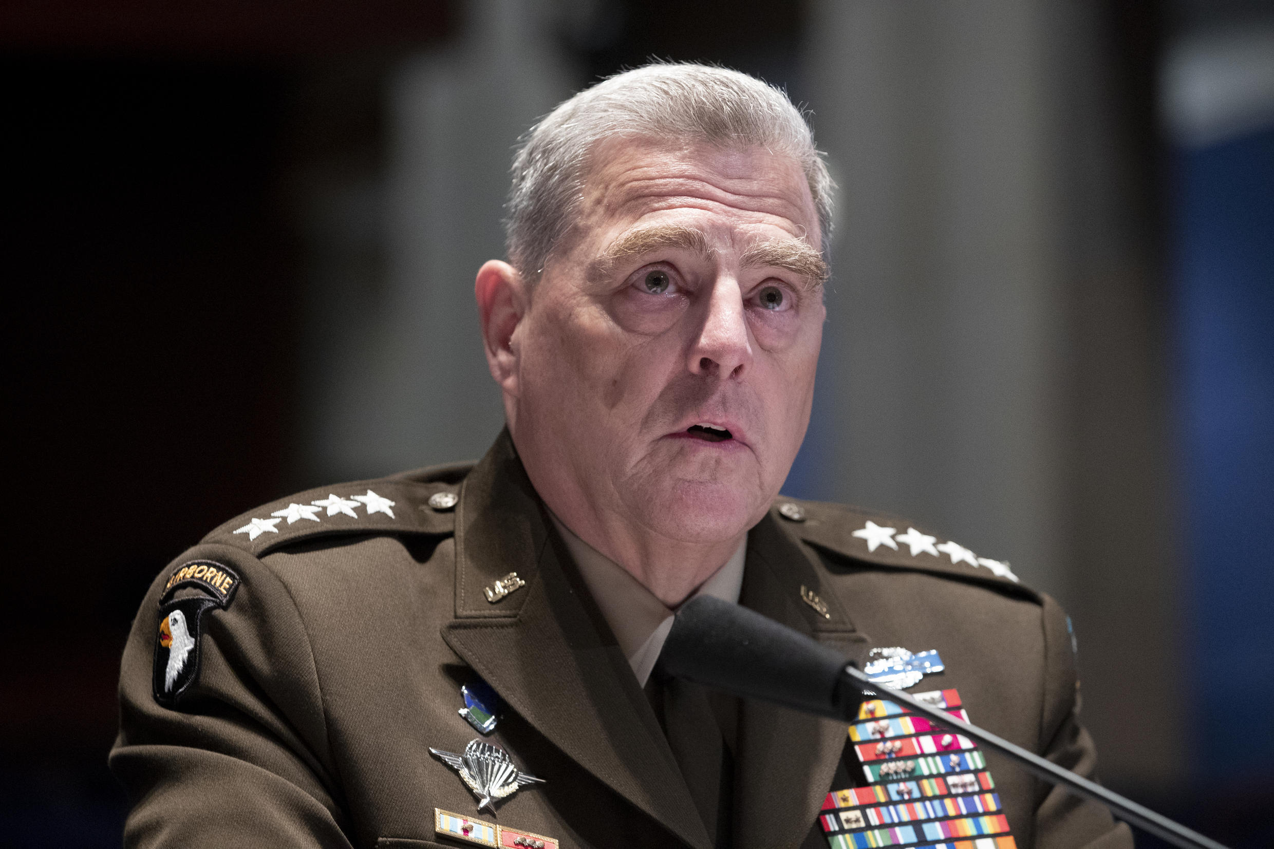 Chairman of the Pentagon Joint Chiefs of Staff, General Mark Milley
