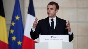 France - Emmanuel Macron - président