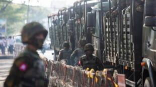 Soldat armée birmane