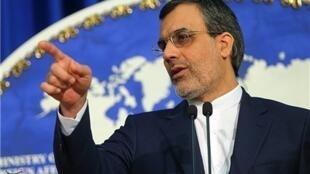 حسين جابرانصارى، سخنگوی وزارت خارجه جمهوری اسلامى
