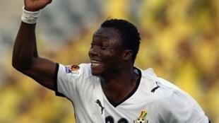 Le Ghanéen Dominic Adiyiah.