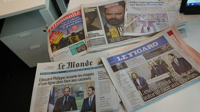 Diários franceses 19.03.2019