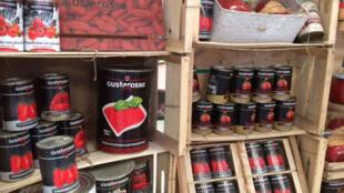 Les conserves de tomates San Marzano, les vraies.