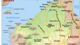 菲律賓甲米地省地圖