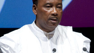 Mahamadou Issoufou, President of Niger speaking at the UNCTAD XIII Opening Ceremony