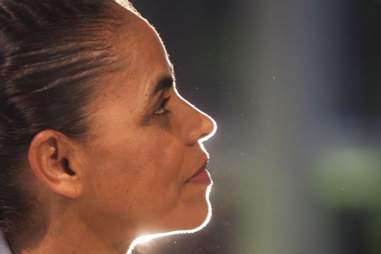 Ex-ministra brasileira do Meio Ambiente, Marina Silva