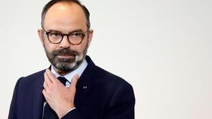 Le Premier ministre Édouard Philippe.
