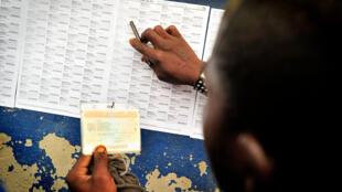 Dans un bureau de vote à Makala, une banlieue de Kinshasa, capitale de la République démocratique du Congo (2011). (Image d'illustration)