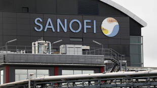 Sanofi's research and production centre in Vitry-sur-Seine, outside of Paris. The pharmaceutical company has posted positive results for the first quarter of 2020, du partially to increased drug sales during the coronavirus epidemic.