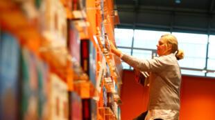 La Foire du Livre de Francfort (Allemagne) est la plus grande foire du livre du monde. Photo datée d'octobre 2017 (Image d'illustration).