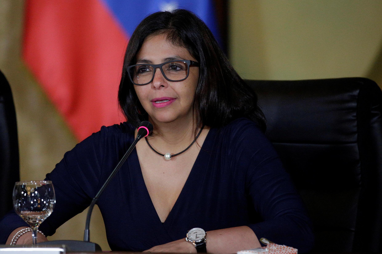 La ministre des Affaires étrangères vénézuélienne Delcy Rodriguez, le 2 septembre 2016 à Caracas.