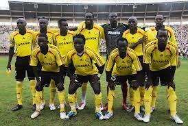 Baadhi ya wachezaji wa Kikosi cha The Cranes