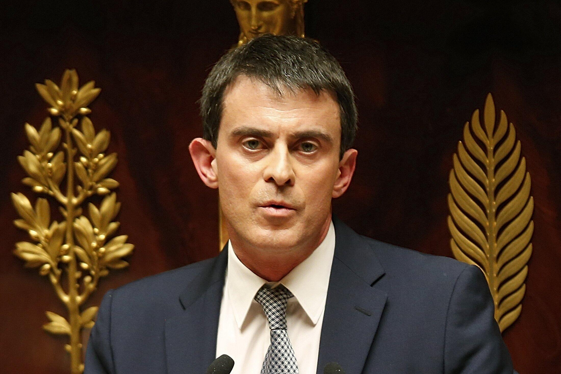 O primeiro-ministro francês, Manuel Valls apresentou pacto de estabilidade na Asembleia Nacional na semana passada..