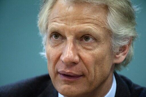 Dominique de Villepin, avocat, ancien ministre des Affaires étrangères et Premier ministre de Jacques Chirac.