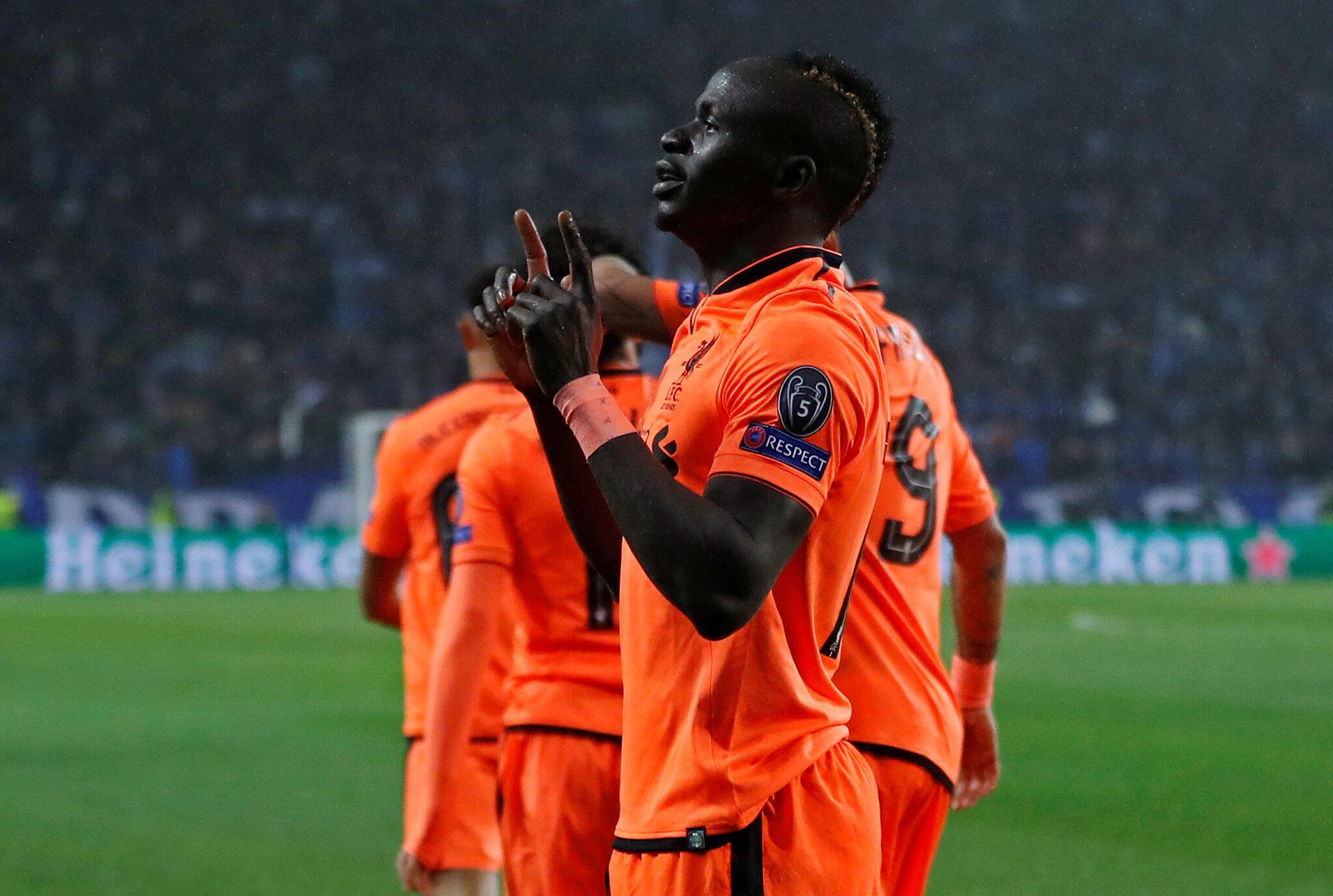 Dan wasan kungiyar Liverpool kuma dan kasar Senegal Sadio Mané.
