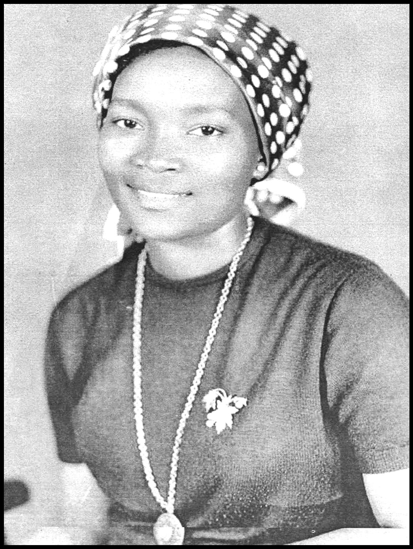 Josina Machel, uma das fundadoras do Destacamento Feminino