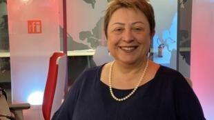 A pesquisadora brasileira Maria Paola Minoprio