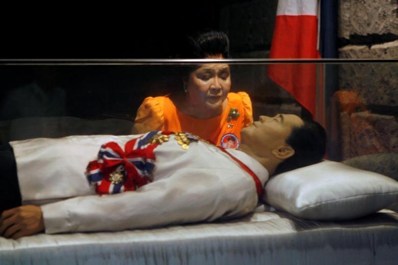 Thi hài của nhà cựu độc tài Marcos tại khu mộ gia đình, tỉnh Ilocos Norte, phía bắc Philippines.