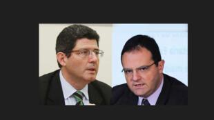 Joaquim Levy (esq.) e Nelson Barbosa (dir.) devem assumir a Fazenda e o Planejamento.