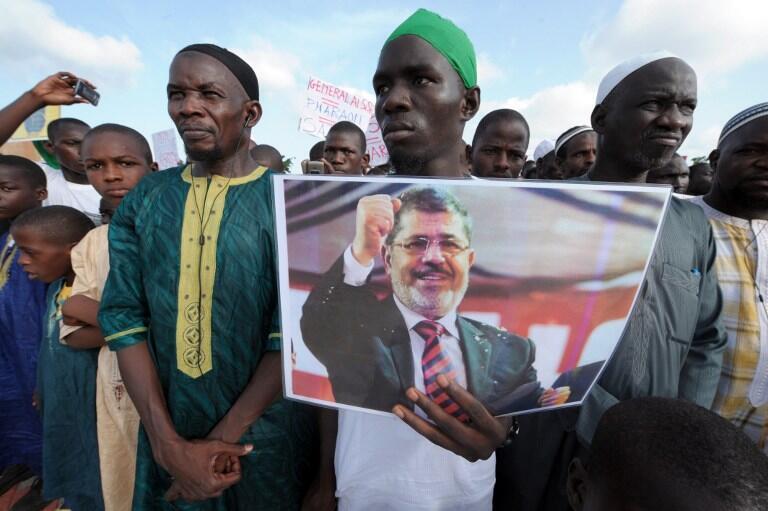 Un rassemblement s'est tenu à Dakar ce jeudi 22 août, en soutien aux partisans de Mohamed Morsi tués dans les manifestations en Egypte.