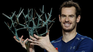 Andy Murray won his eighth tournament of the year at the Paris Masters