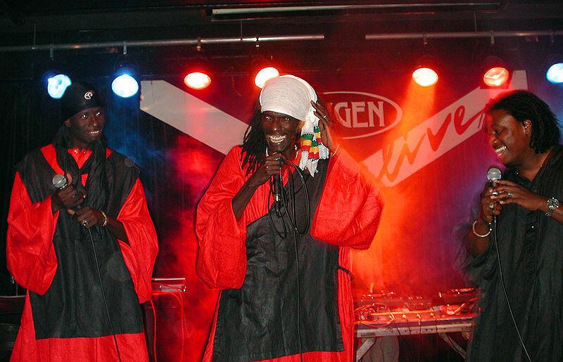 Le groupe «PBS» en concert à Vienne (Autriche) en 2003.