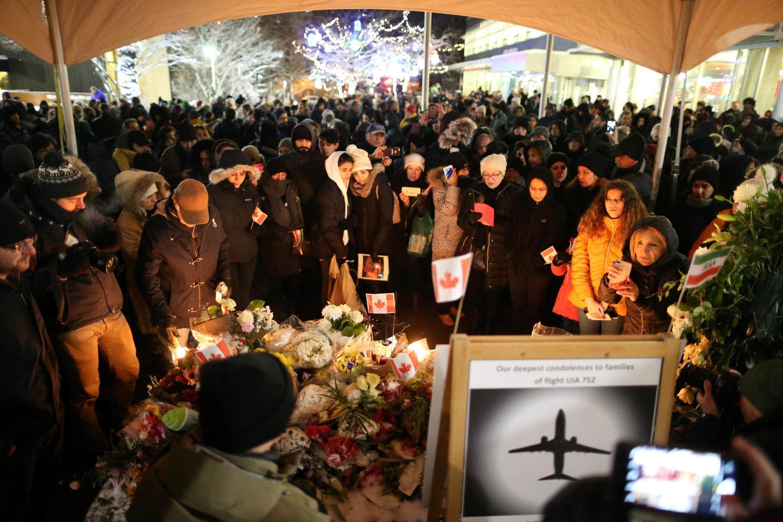 خانواده و نزدیکان قربانیان پرواز پیاس ٧٥٢ ـ کانادا، ژانویه ٢٠٢٠