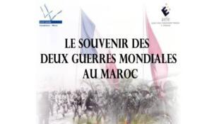 Couverture du livre «Le souvenir des deux guerres mondiales au Maroc».
