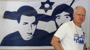 Noam Shalit, pai do soldado franco-israelense sequestrado na Faixa de Gaza.