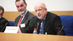 Alain Chouet, ancien chef de service de renseignement à la DGSE. (Photo du 29 janvier 2010).