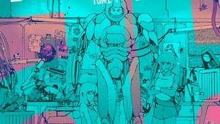 Couverture de «Bolchoi Arena», la nouvelle bande dessinée de Boulet et Aseyn.