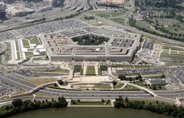 美国国防部五角大楼 资料照片  Le Pentagone, le siège du ministère de la Défense américain