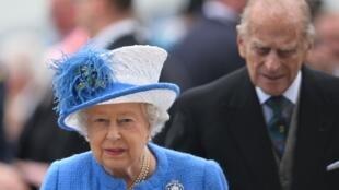 Malkia Elisabeth II na Prince Philip, wakati waziara yao Kusini mwa Uingereza, Juni 4, 2016.