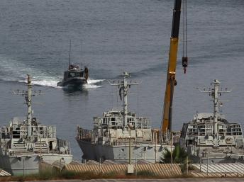 Hải quân Israel hộ tống tàu nhân đạo về cảng Ashdod