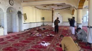 Attentat mosquée Kaboul