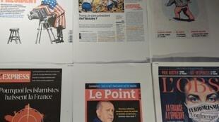 Semanários franceses  07 11 2020