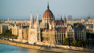 Budapest, le Parlement.