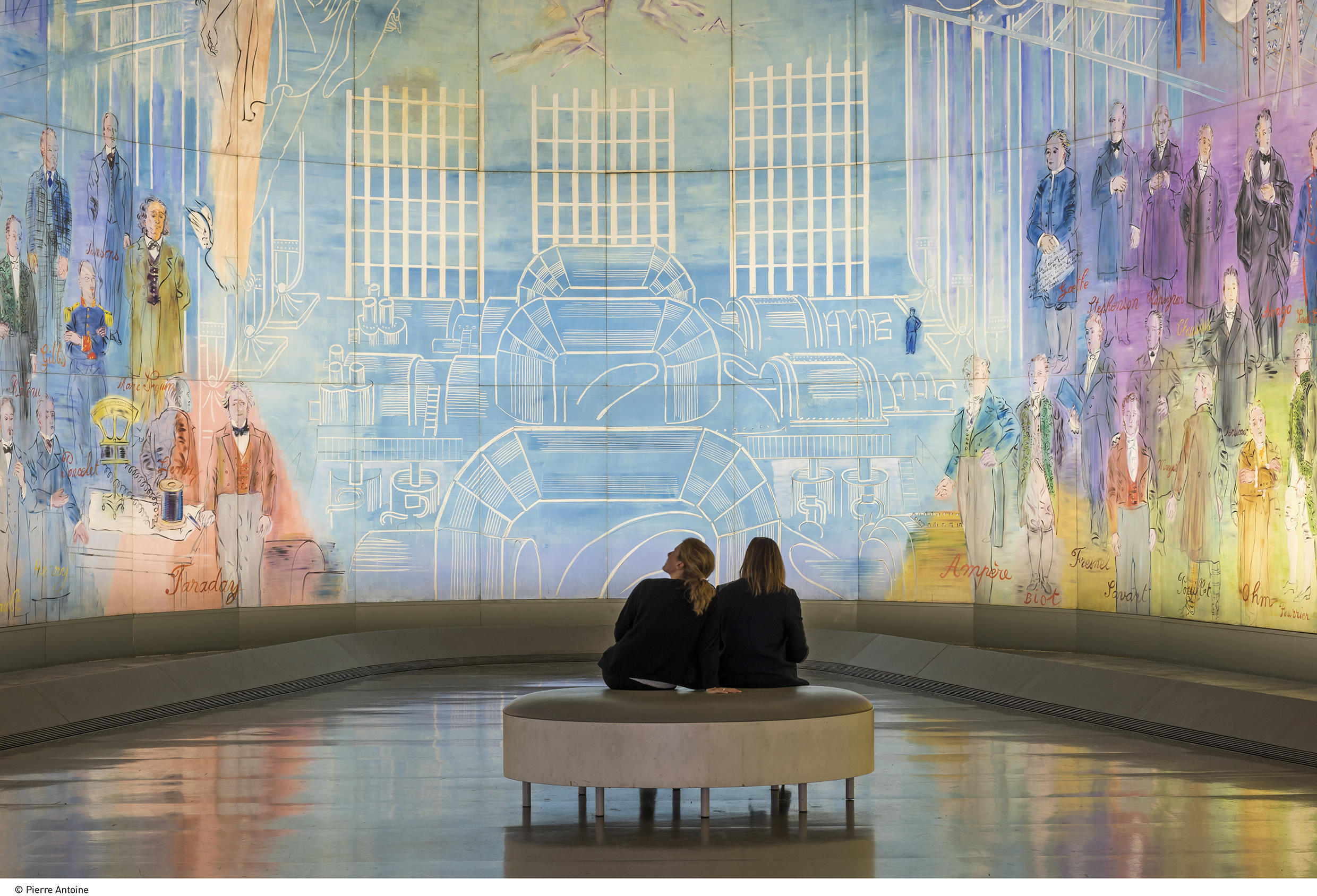 "Visitors immerse themselves in Dufy's ""The Electricity Fairy"" at MAM"