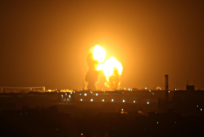 以色列军队轰炸加沙地带