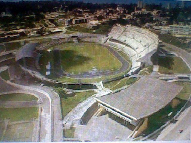 Stade omnisports Omar Bongo, à Libreville.